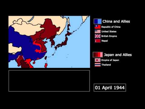 [Wars] The Second Sino-Japanese War (1937-1945): Every Month