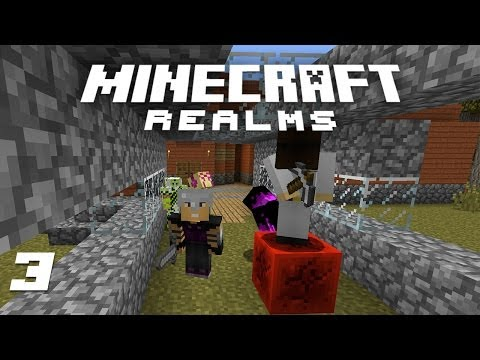 Minecraft Realms - Apartments, Dock, X-ray Machine! [3]