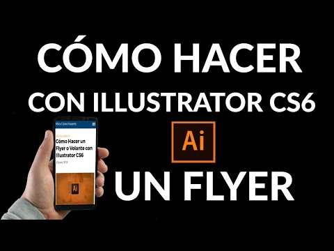 Cómo Hacer un Flyer o Volante con Illustrator CS6