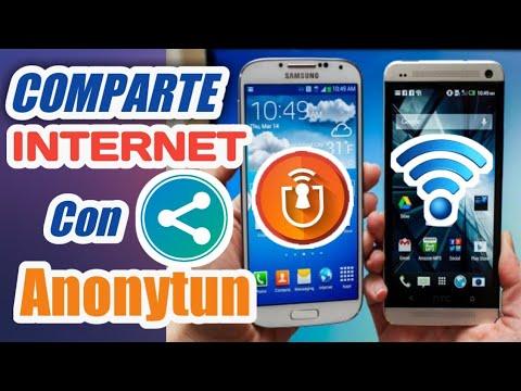 Cómo Compartir INTERNET CON ANONYTUN 2019 || Comparte INTERNET A Cualquier DISPOSITIVO MOVIL
