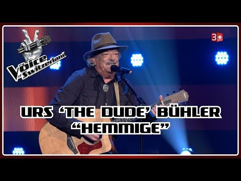 """Urs """"The Dude"""" Bühler - Hemmige   Blind Auditions   The Voice of Switzerland"""