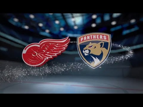 Detroit Red Wings vs Florida Panthers - October 28, 2017 | Game Highlights | NHL 2017/18 Обзор