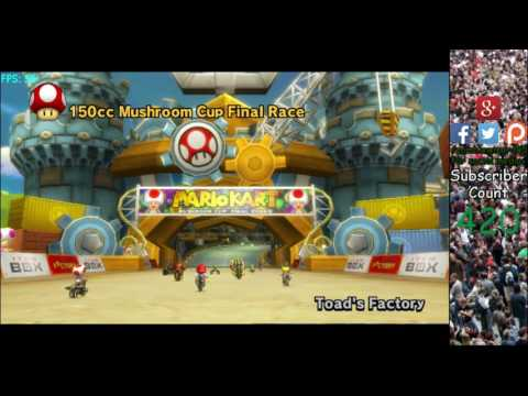 Mario Kart Wii 300km/h Speed Hacks on Dolphin Emulator! #1