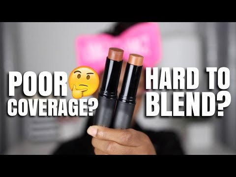 THE WORST STICK FOUNDATION FOR ALL SKIN TYPES?! | Andrea Renee