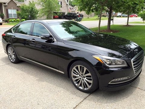 Caspian Black 2015 Hyundai Genesis 5.0 Ultimate Review Nashville TN