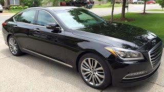 Caspian Black 2015 Hyundai Genesis 5.0 Ultimate Review Nashville TN
