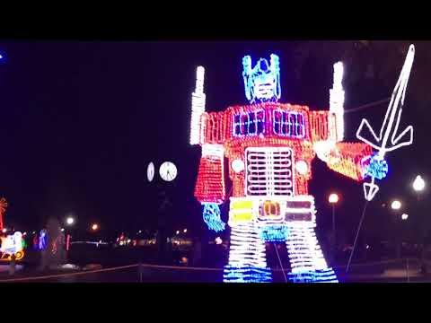 Enfeites de Natal em New Orleans (Lafreniere Park)