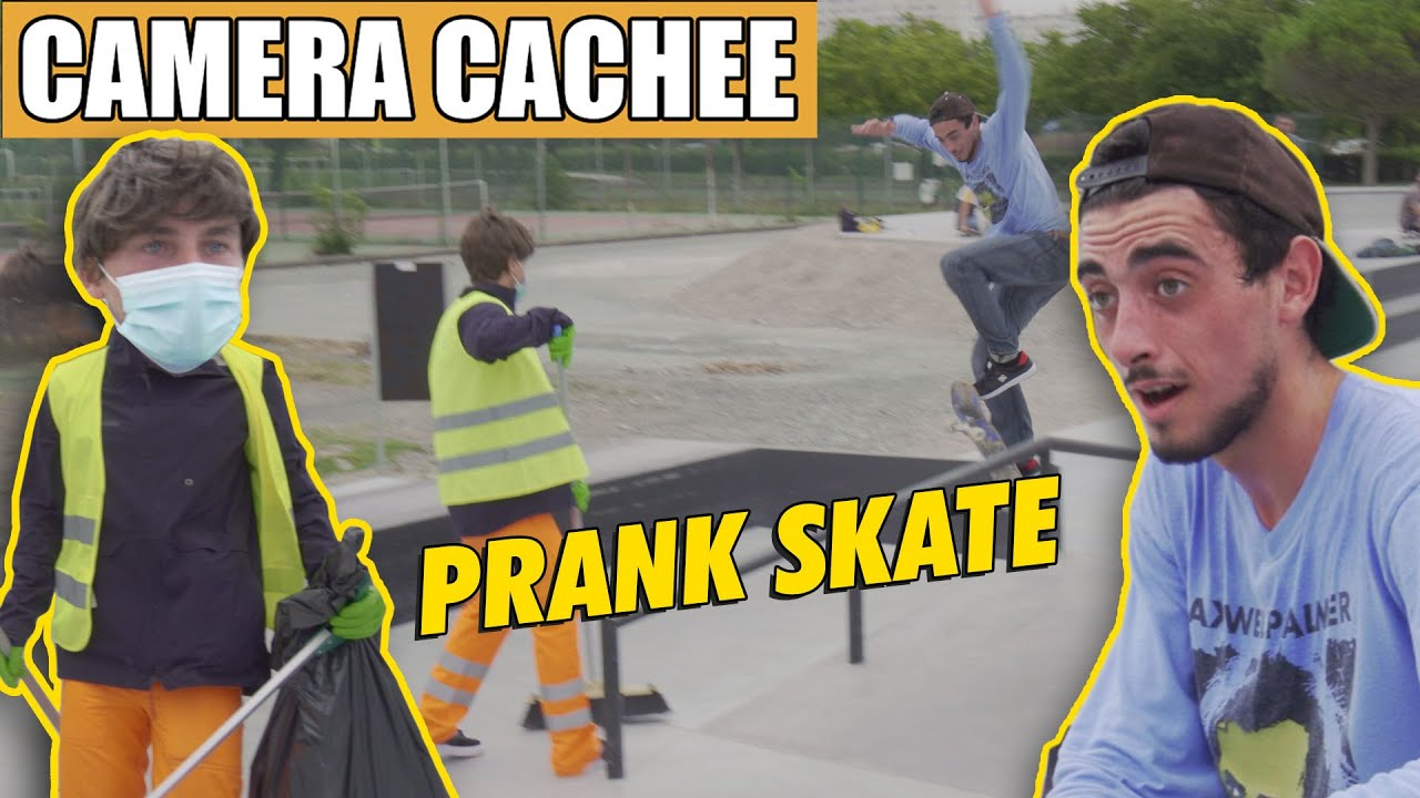 PRANK : on a piégé un skateur avec @Joseph Garbaccio !
