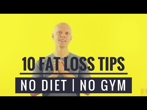 10 Ways to Lose Weight Fast without Dieting or Going to the Gym