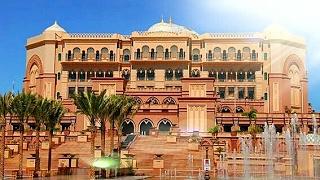 Emirates Palace Hotel Abu Dhabi 2018