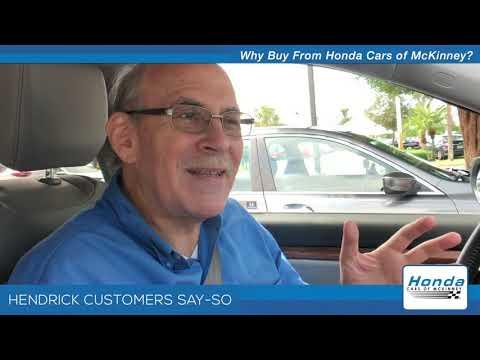 WHY BUY From Honda Cars of McKinney