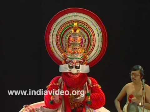 Chuvanna Thaadi - Kathakali Make-up