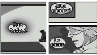 Todo Fue... ¿Una Mentira?   10 cómic Tristes Ladybug Español