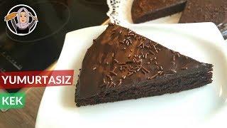 Yumurtasız Sütsüz Kakaolu KEK Tarifi | Hatice Mazı ile Yemek Tarifleri