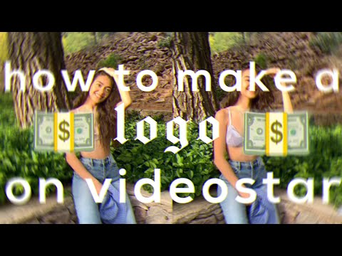 how to make logos on videostar! easy!