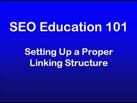 10 - SEO Education 101 Setting Up a Proper Linking Structure