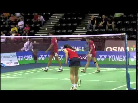 QF - XD - Shoji Sato/Shizuka Matsuo vs Muhammad Rijal/Debby Susanto - 2011 Yonex Sunrise India Open