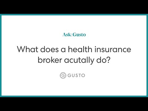 What Does A Health Insurance Broker Actually Do?