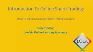 How To Buy Shares On The JSE | STEP 1: How To Register An Online Share Trading Account