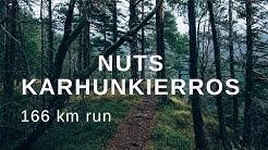 NUTS KARHUNKIERROS 2018, 166 km trail run