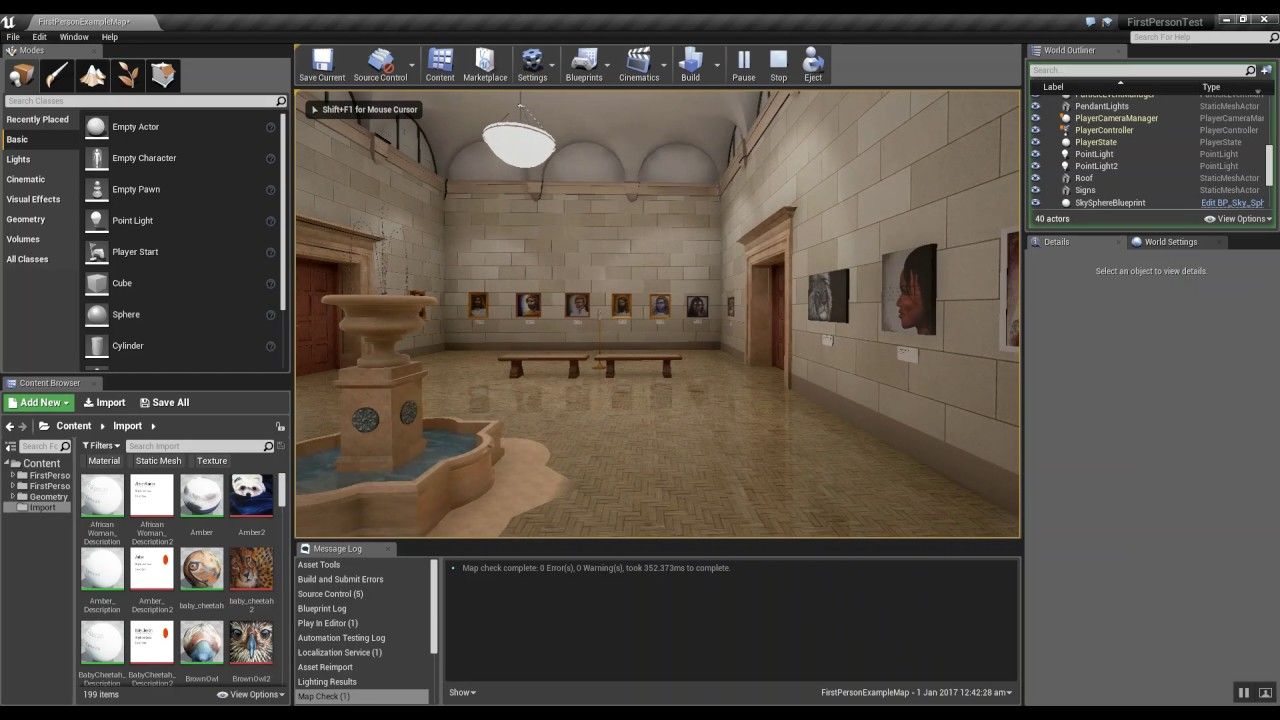 Sketchup Training - Exporting Sketchup Models Into Unreal 4 Game Engine
