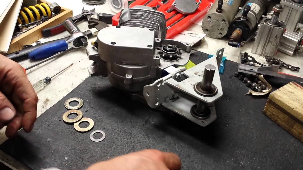Assembly Tips For Installation Of The The Sick Bike Parts Shift Kit
