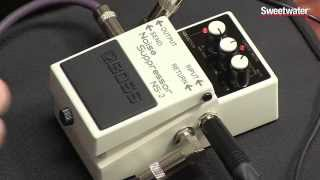 Boss Ns-2 Noise Suppressor Pedal Review By Sweetwater Sound