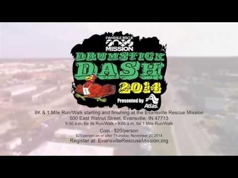 Evansville Rescue Mission's Third Annual Drumstick Dash