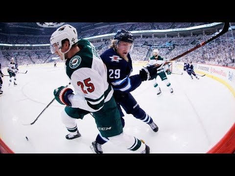 Top NHL Pick Winnipeg Jets vs Minnesota Wild Stanley Cup Playoffs 4/17/18 Hockey