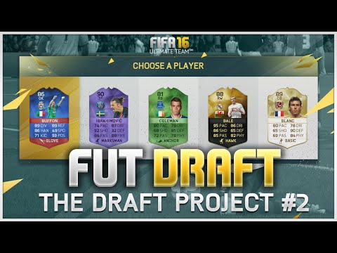 FIFA 16 FUT Draft - The Draft Project #2