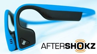 Aftershokz Trekz Titanium Bone Conduction Headphones | The BEST Fitness Headset?