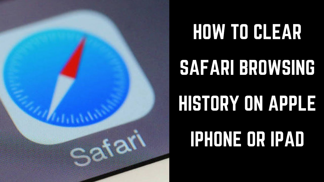 how to clear safari history on iphone how to clear safari browsing history on apple iphone or 19924
