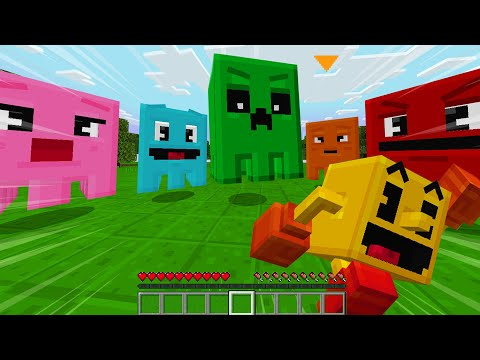 So Minecraft Made A PAC MAN Game..