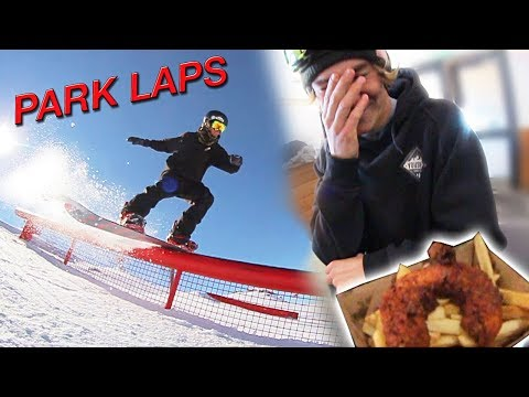 PARK LAPS AND STEALING FOOD!