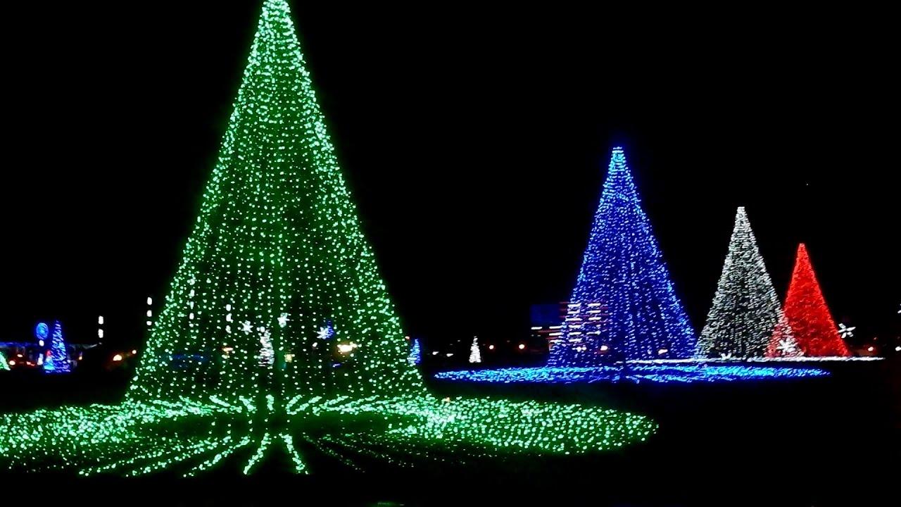 Let it go | Christmas lights | Coney island, Cincinnati - YouTube