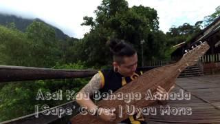 Download Asal Kau Bahagia Armada | Sape Cover | Uyau Moris