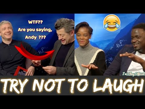 Black Panther Bloopers and Cast Funny Moments | Letitia Wright Funny 2018 streaming vf