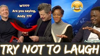 Black Panther Bloopers and Cast Funny Moments | Letitia Wright Funny 2018