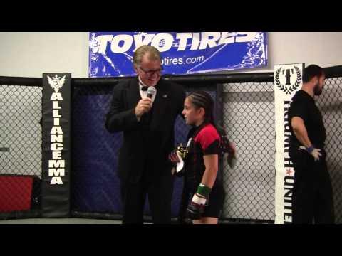 Cheyenne Bowman post fight interview