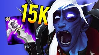 BIG 15K SINISTER STRIKE! - Outlaw Rogue PvP WoW: Battle For Azeroth 8.0.1