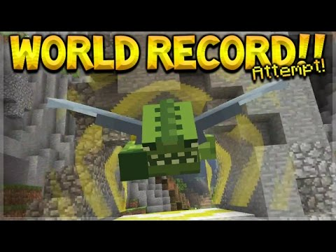 RACE FOR THE WORLD RECORD!! Minecraft Console Edition - GLID