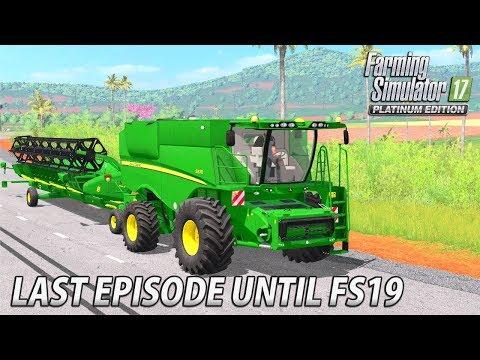 NEW JOHN DEERE HARVESTER   Farming Simulator 17 Estancia Lapacho - Ep 27 thumbnail
