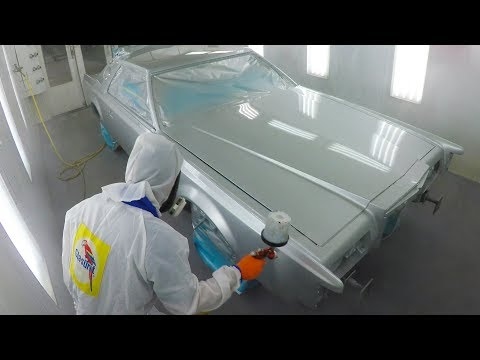 Complete Paint Job - 78 Lincoln Continental Mark V
