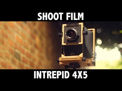 Intrepid 4x5 (large format)