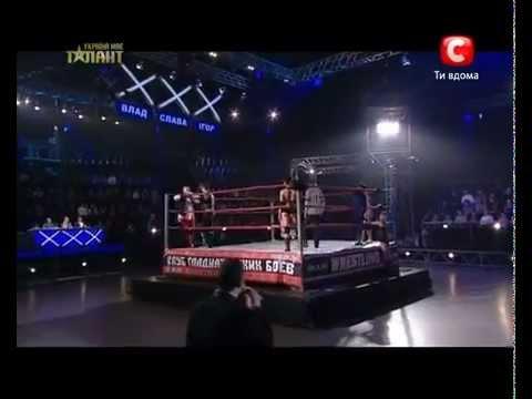Украина мае талант 4 Лучшее - Клуб Гладиаторских Боев.flv