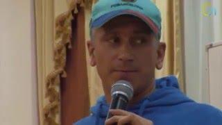 Сергей Груздев - физические нагрузки на сыроедении