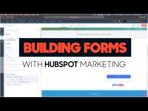 How to build HubSpot forms