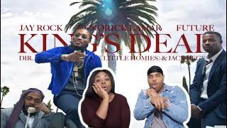 Jay Rock, Kendrick Lamar, Future, James Blake - King's Dead | REACTION!!!