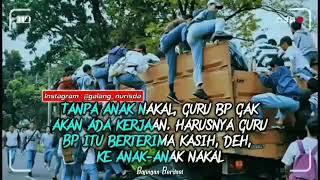 """Gambar cover Story Wa Keren, Story Wa 31 Detik """"Anak Pelajar"""""""