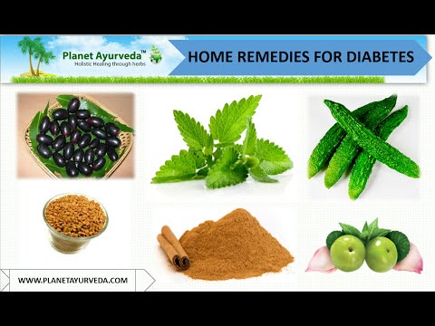 Home Remedies For Diabetes Mellitus Management - Herbal Treatment